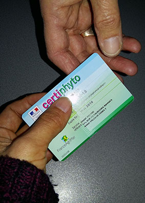 Carte certiphyto