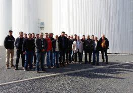 Visite du silo UCAL par Atouts Jeunes