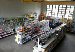 Intérieur du magasin coopaca molinet