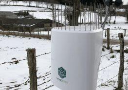 Première station météo du réseau UCAL météo Pro de l'Allier - neige janvier 2018