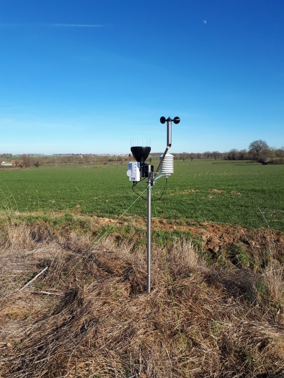 70ème station meteo du reseau UCAL METEO EXPERT